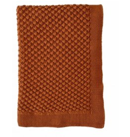 Indus Design Indus - Mini Popcorn Blanket Rust