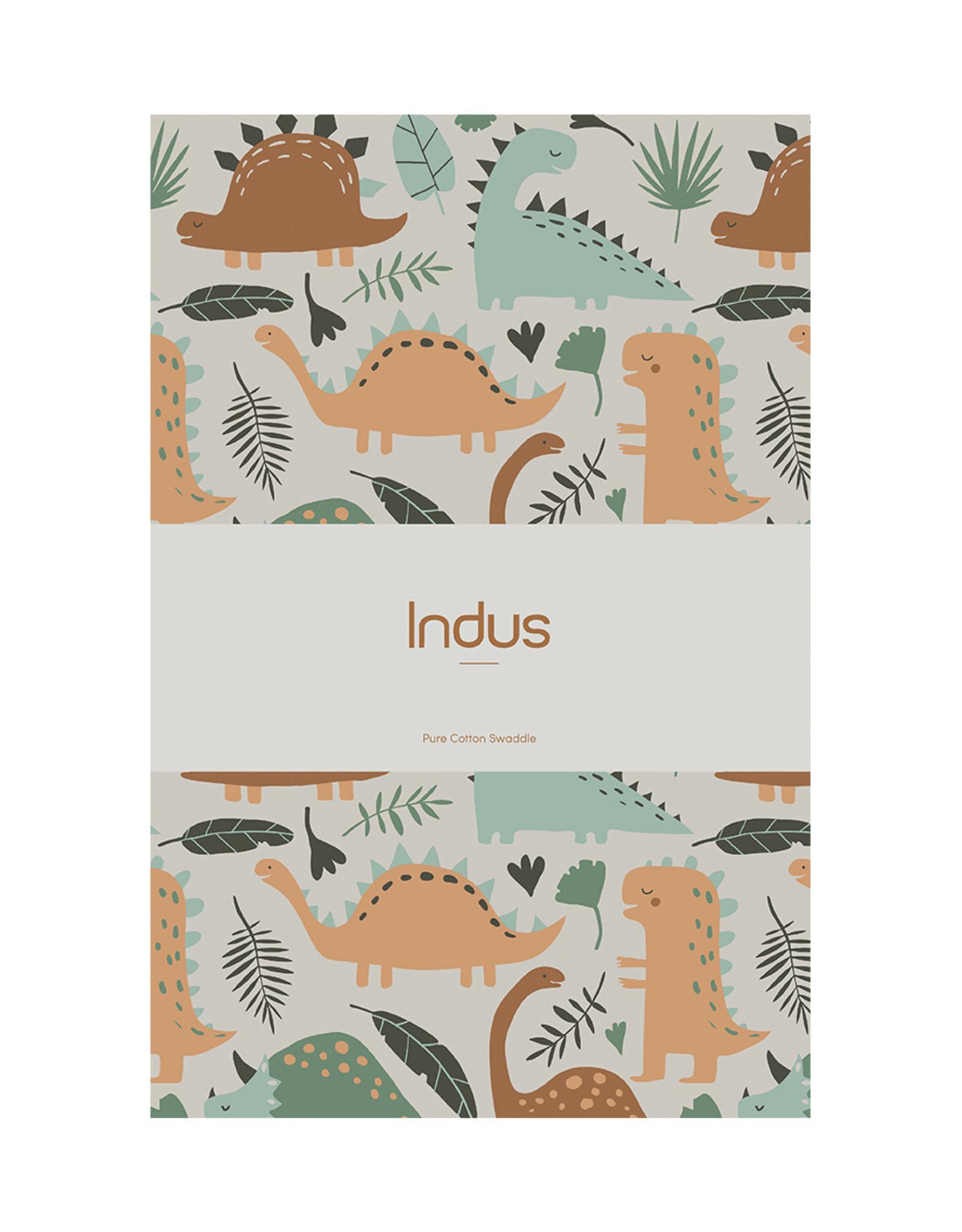 Indus Design Indus - Dinosaur Baby Swaddle