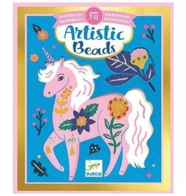 Djeco Djeco - Artistic Beads Flowers & Fur