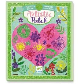 Djeco Djeco - Artistic Patch Glitter Petals
