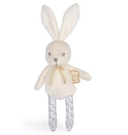 Kaloo Kaloo - Perle Rabbit Rattle Cream 12cm