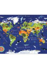 Crocodile Creek Crocodile Creek - World Animals Puzzle 200pce