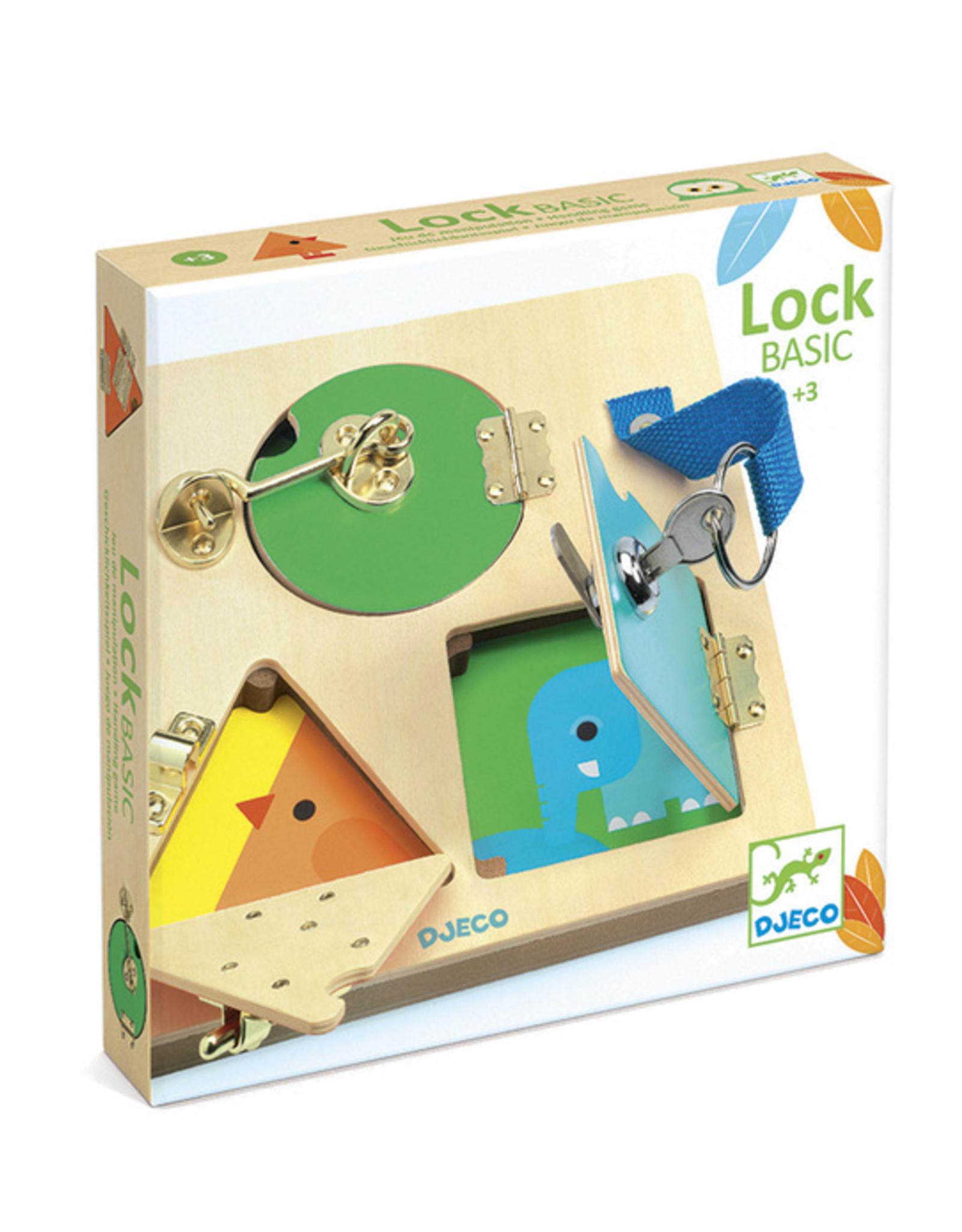 Djeco Djeco - Lock Basic Wooden Puzzle