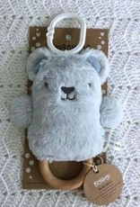 O B Designs O.B Designs - Wooden Teether Beau Bear