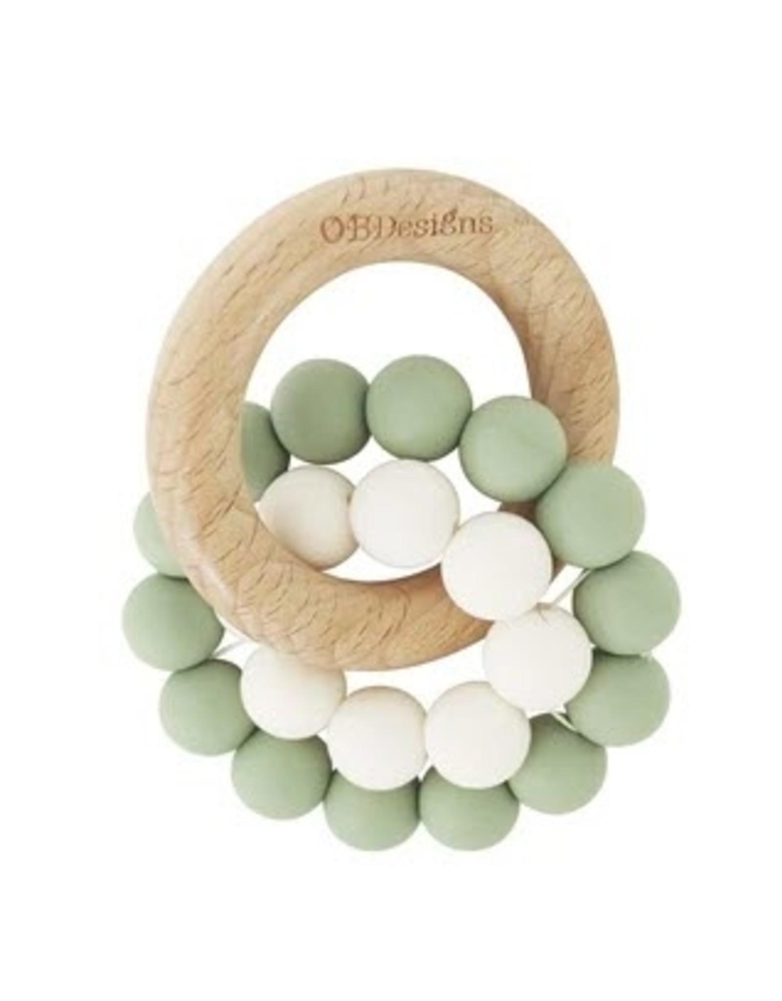 O B Designs O.B Designs - Eco Teether Toy Sage