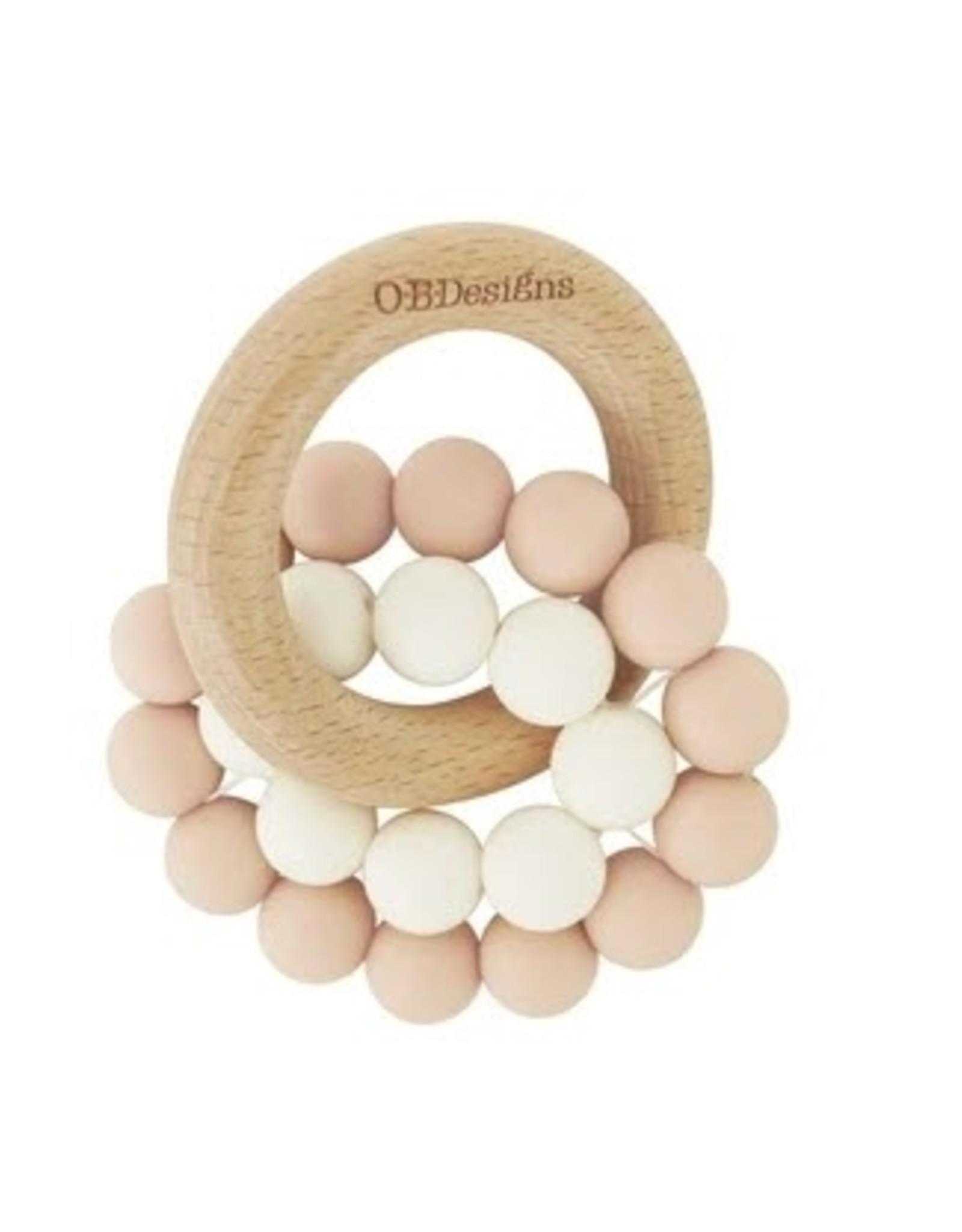 O B Designs O.B Designs - Eco Teether Toy Blush