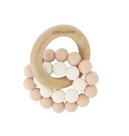 O B Designs O.B Designs - Eco Teether Toy Blush