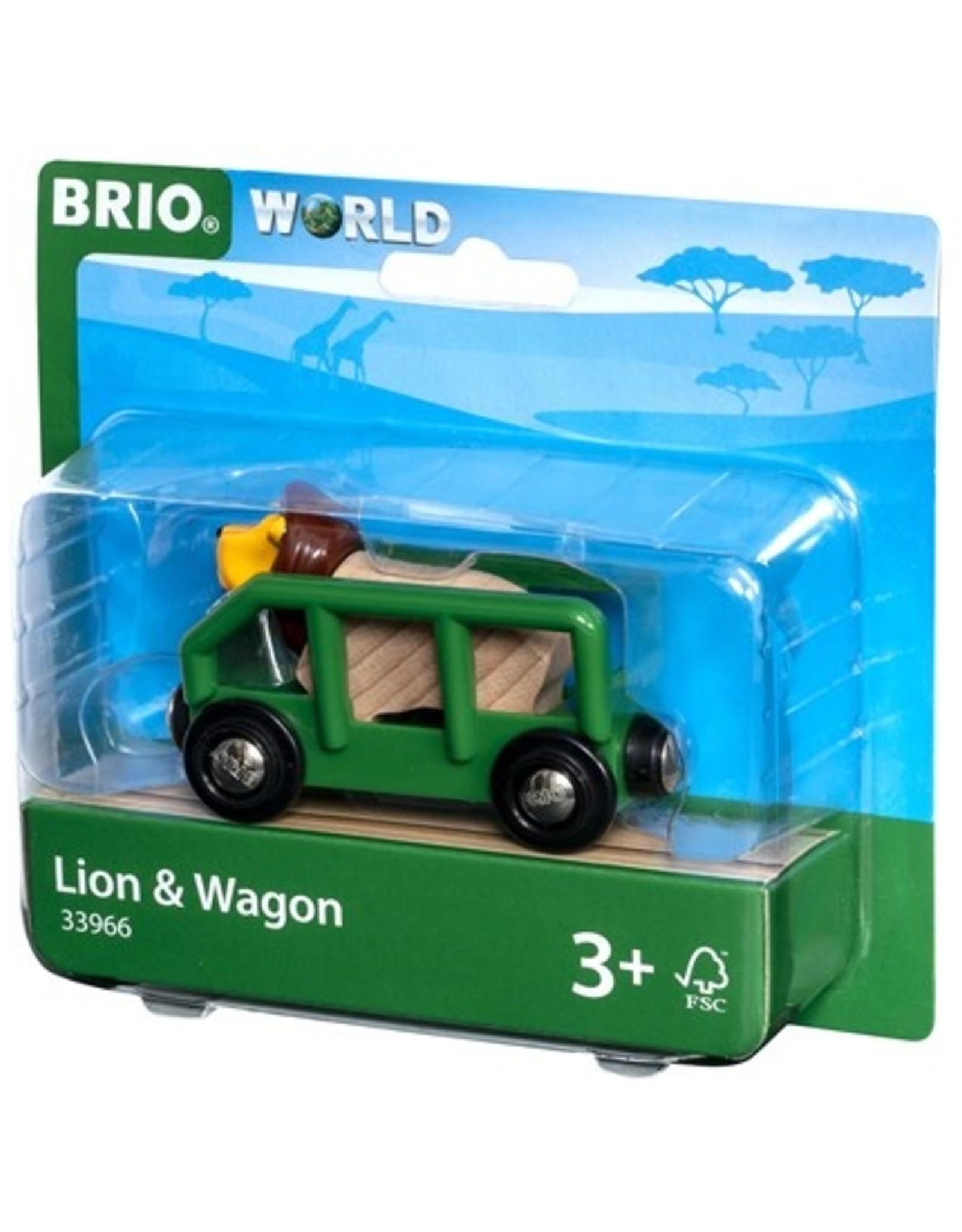 Brio BRIO - Lion & Wagon