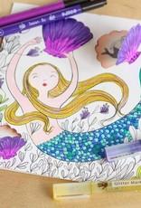 Djeco Djeco - Coloring Surprise Under the Sea