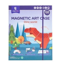 MierEDU Magnetic Art Case - Dino World