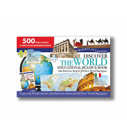 Discover The World Puzzle And My First Atlas