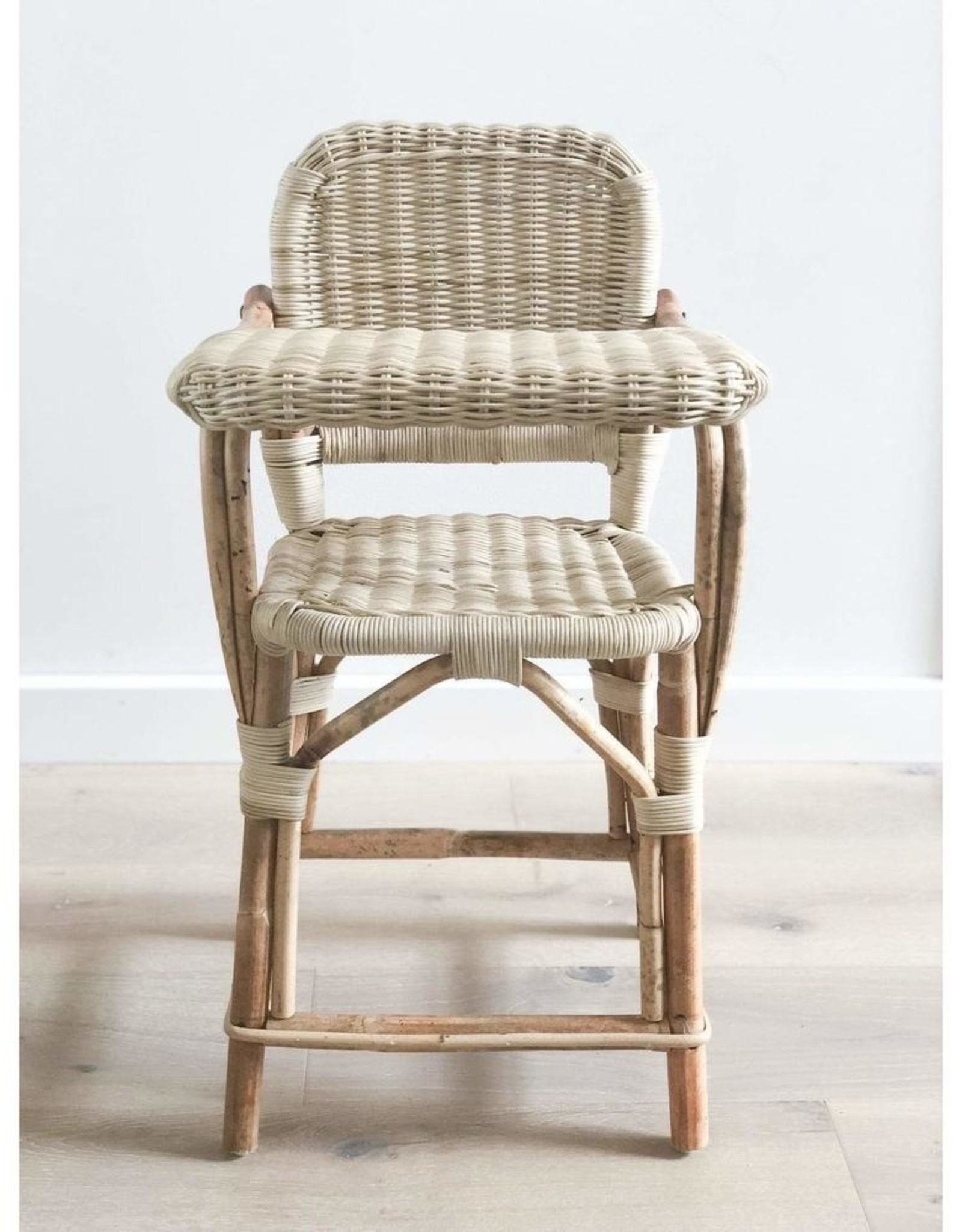 Tiny Harlow Tiny Harlow - Dolls Rattan Highchair