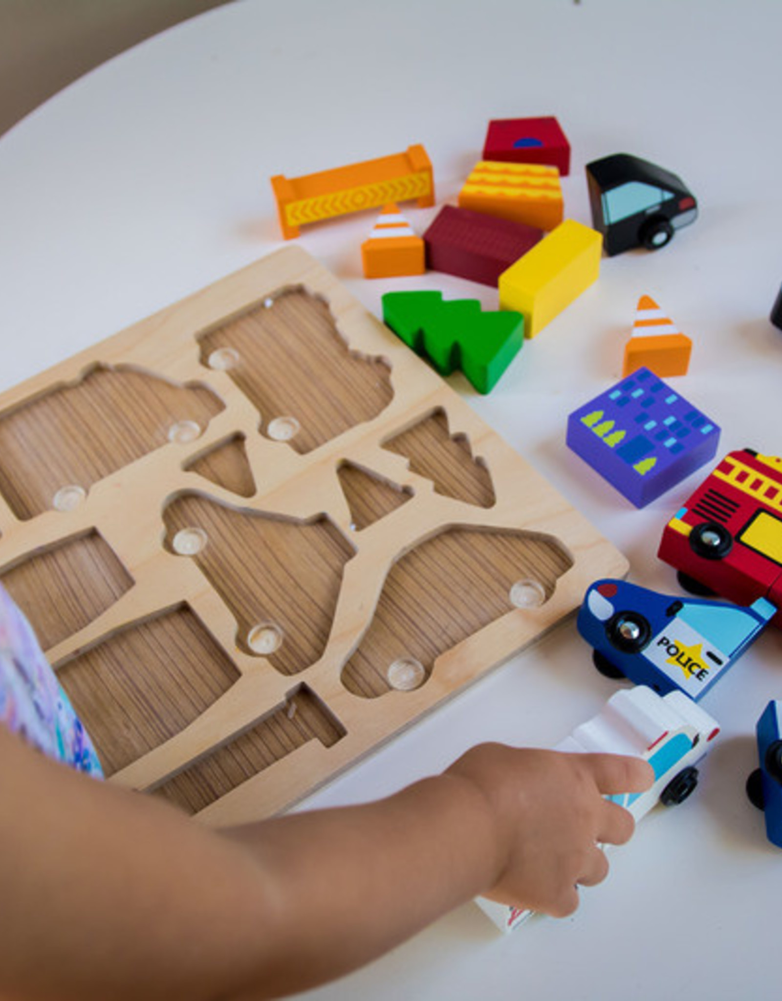 Kiddie Conect Kiddie Connect - Vehicle Puzzle With Magnets