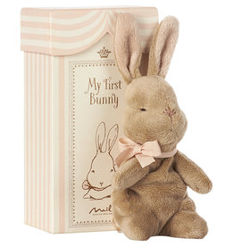 Maileg Maileg - My First Bunny In Box Rose
