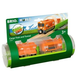 Brio BRIO - Cargo Train & Tunnel