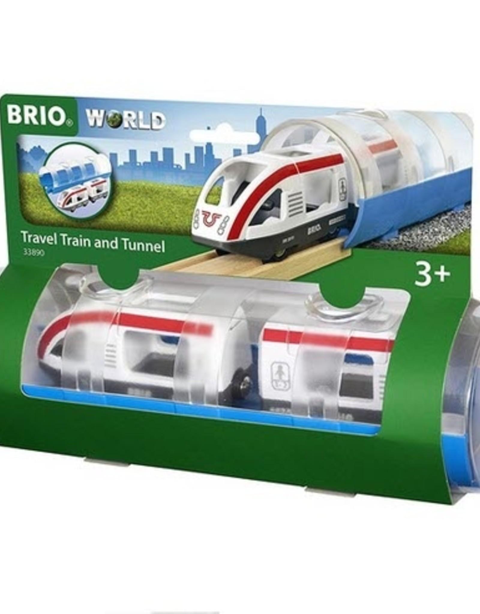 Brio BRIO - Travel Train And Tunnel