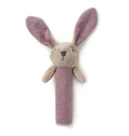 Nana Huchy Nana Huchy - Bunny Rattle Pink/Grey