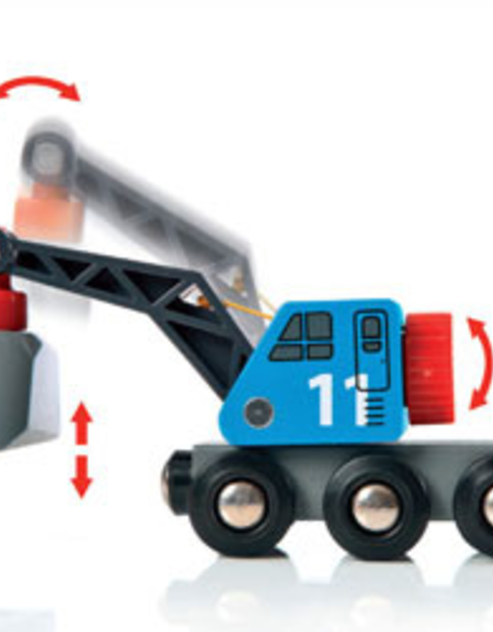 Brio BRIO - Rail & Road Loading Set