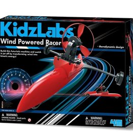 4M 4M - Kidzlabs Wind Powered Racer