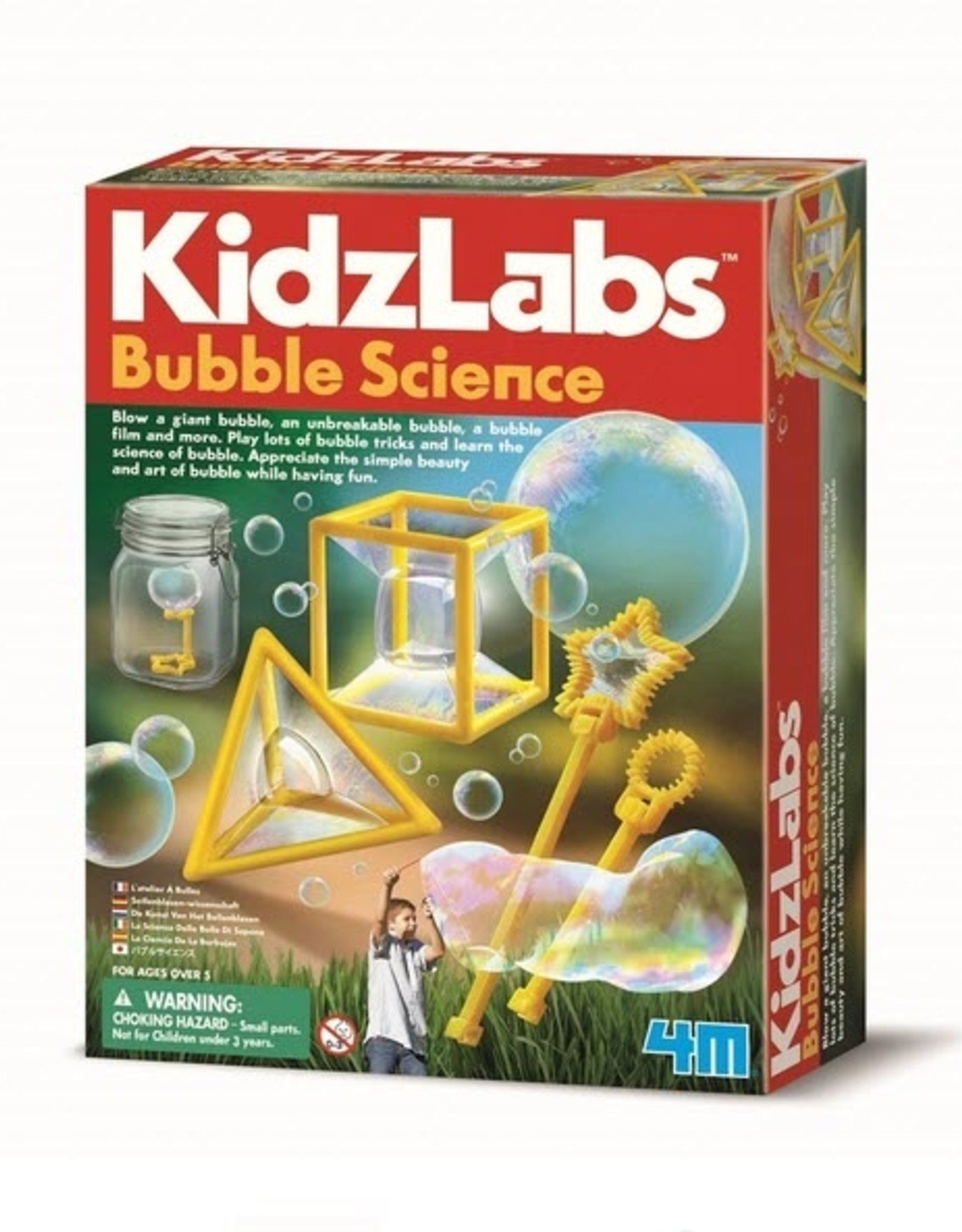 4M 4M Kidzlabs - Bubble Science