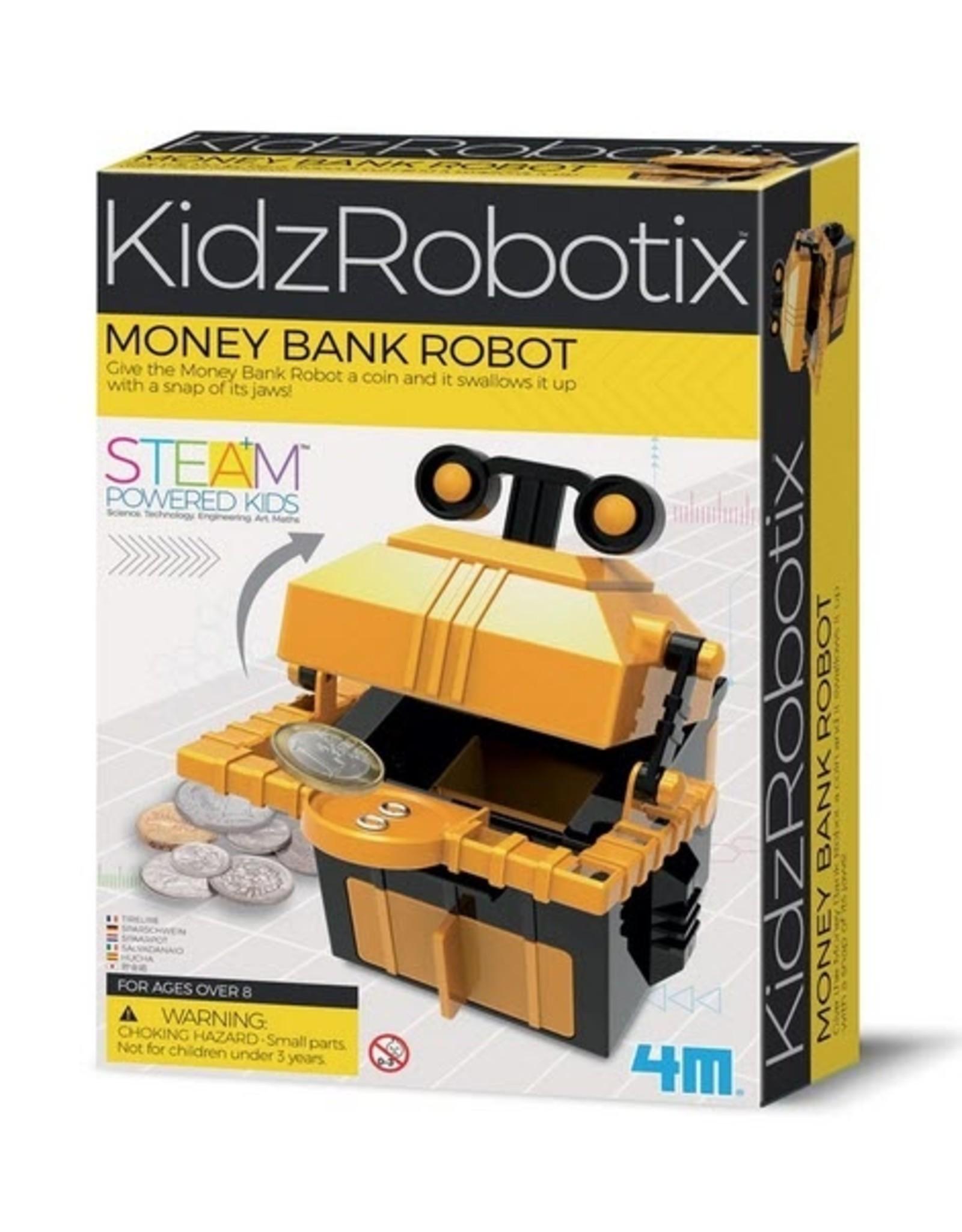 4M 4M - KidzRobotix  Money Bank Robot