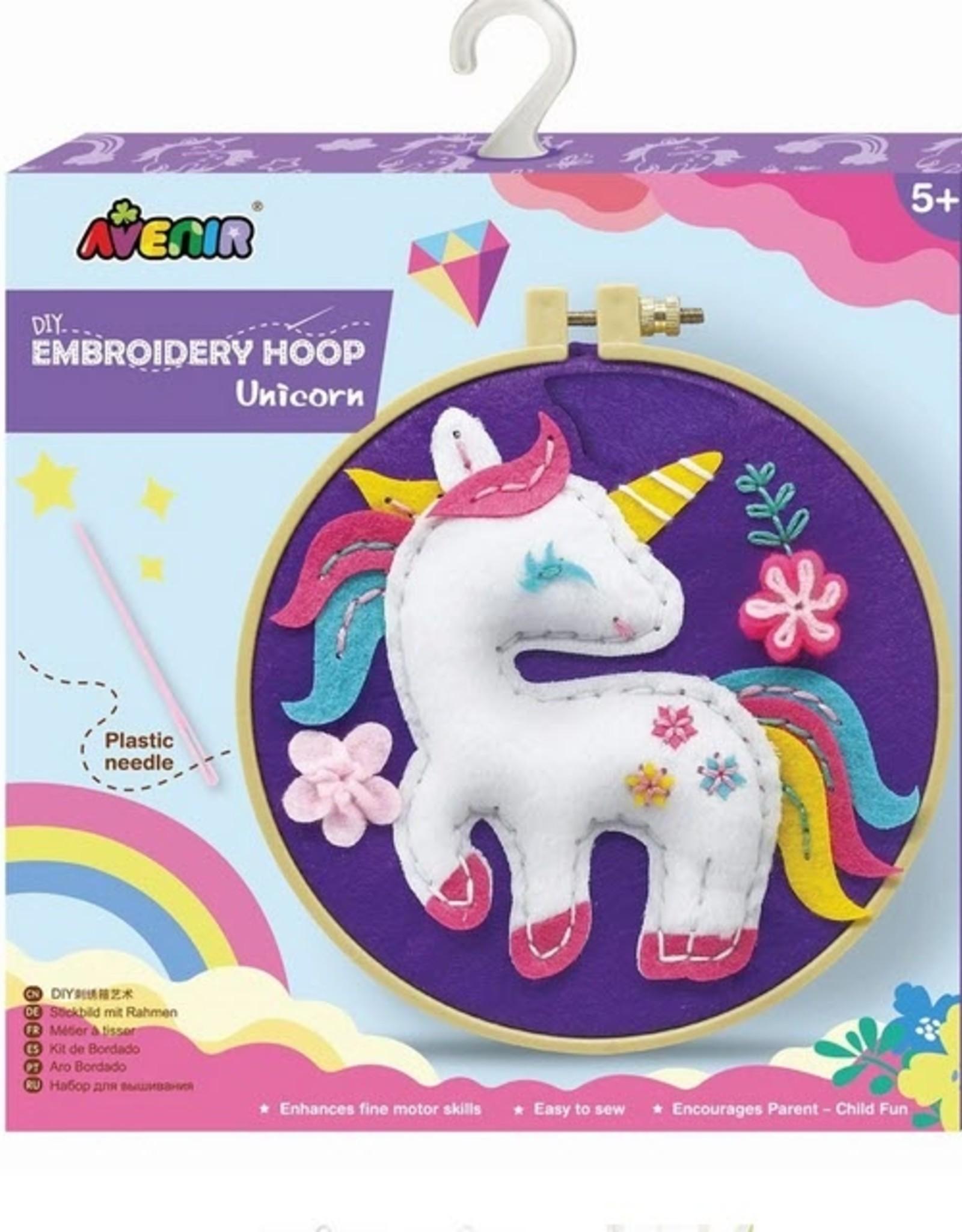 Avenir - Embroidery Hoop Unicorn