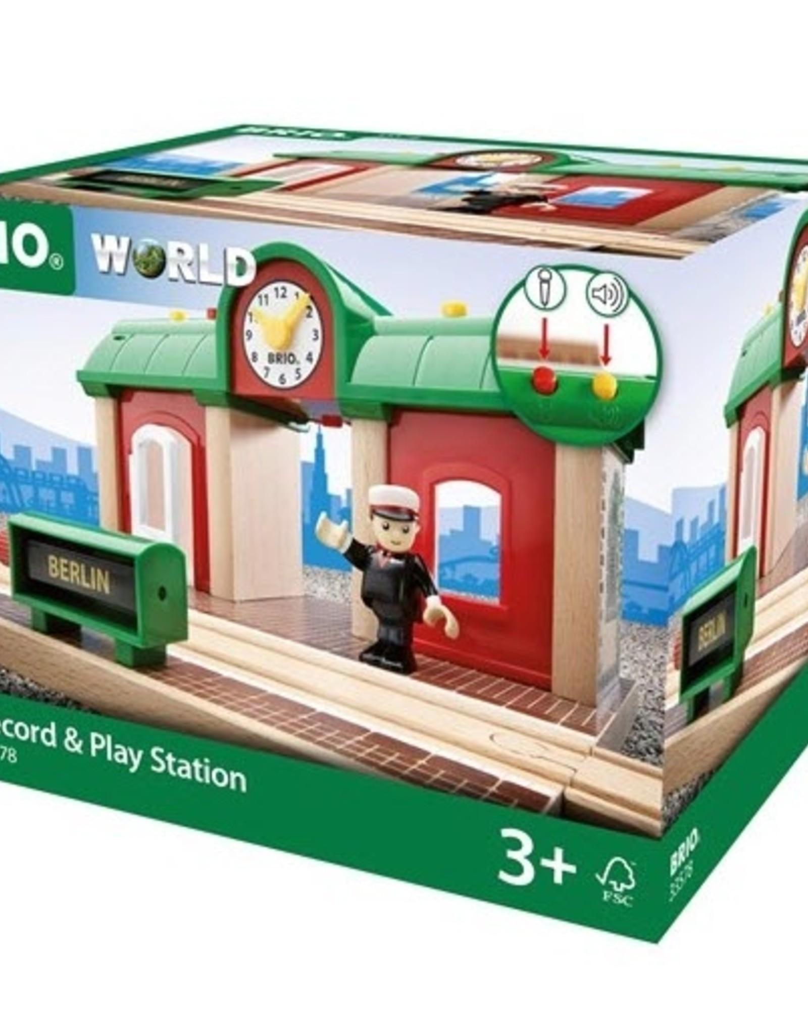 Brio BRIO - Record & Play Station