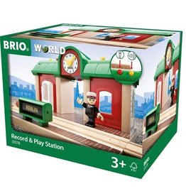 Brio BRIO - Record & Play Station