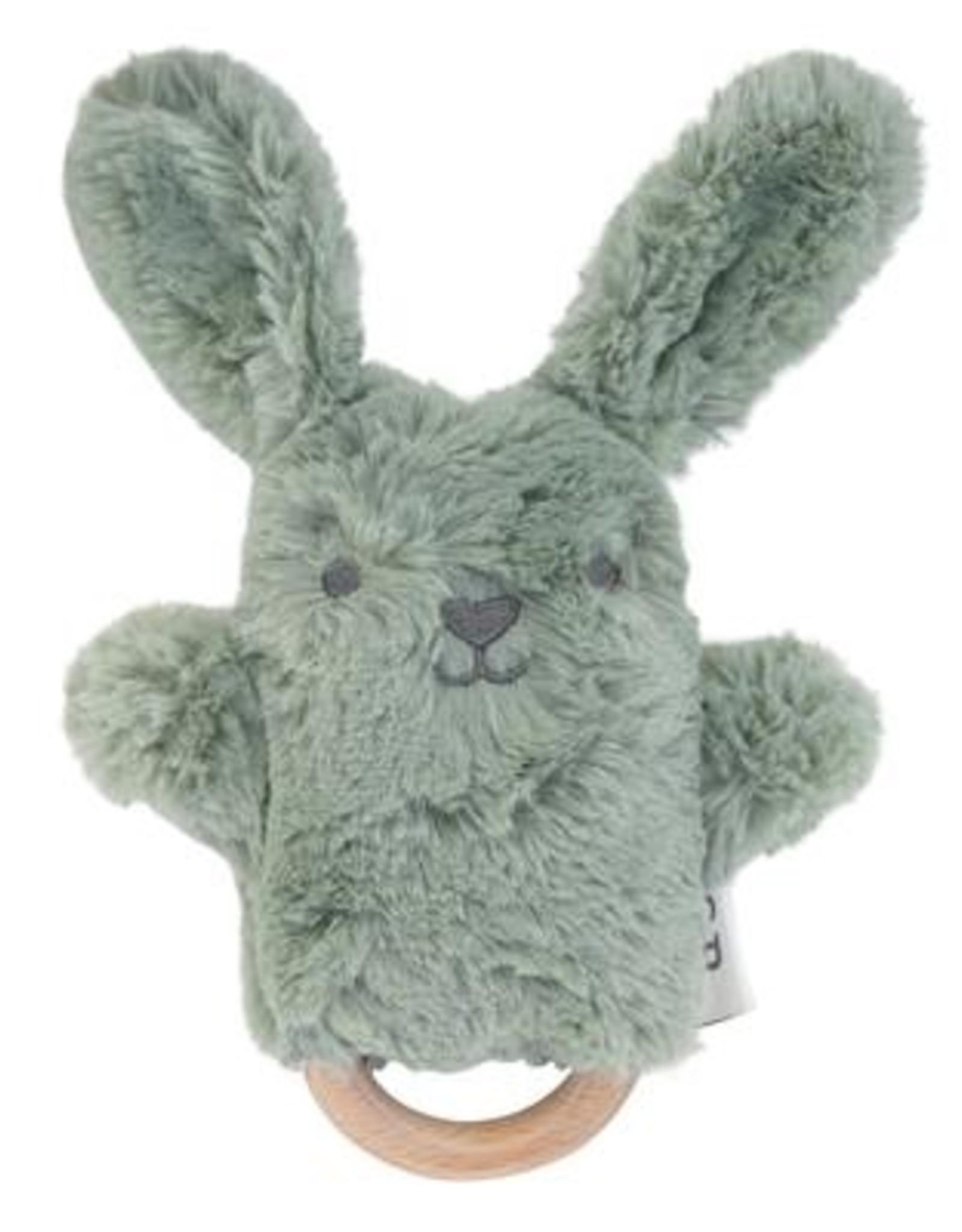 O B Designs O.B Designs - Wooden Teether Beau Bunny