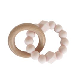 Jellystone Designs Jellystone - Moon Teether Blush