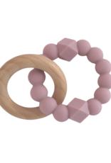 Jellystone Designs Jellystone - Moon Teether Mauve