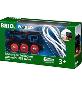 Brio BRIO - Rechargable Engine With Mini USB Cable