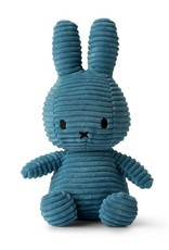 Miffy Miffy - Sitting Corduroy Aviator Blue 23cm