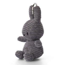 Miffy Miffy - Keychain Corduroy Grey 10cm
