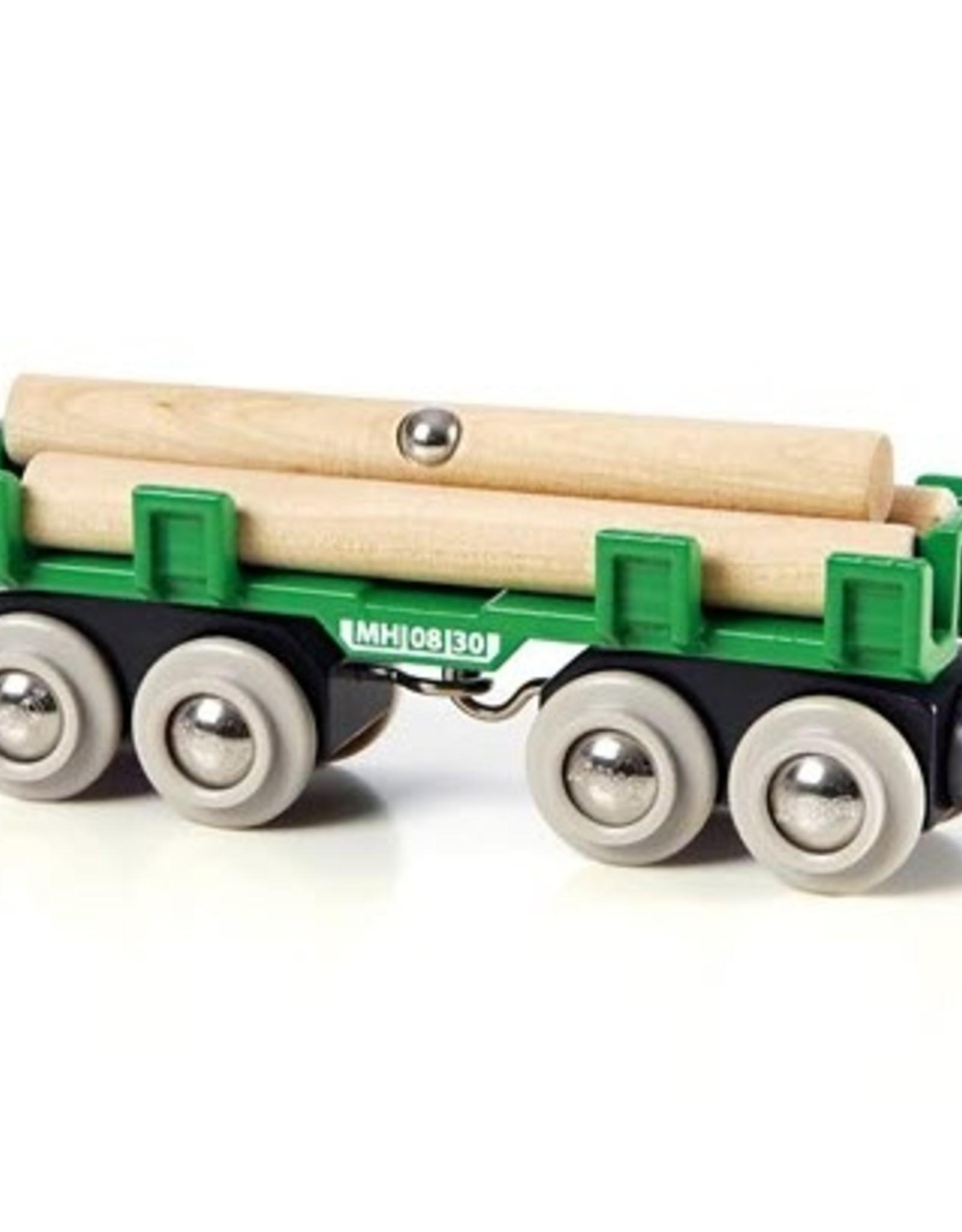Brio BRIO - Lumber Loading Wagon
