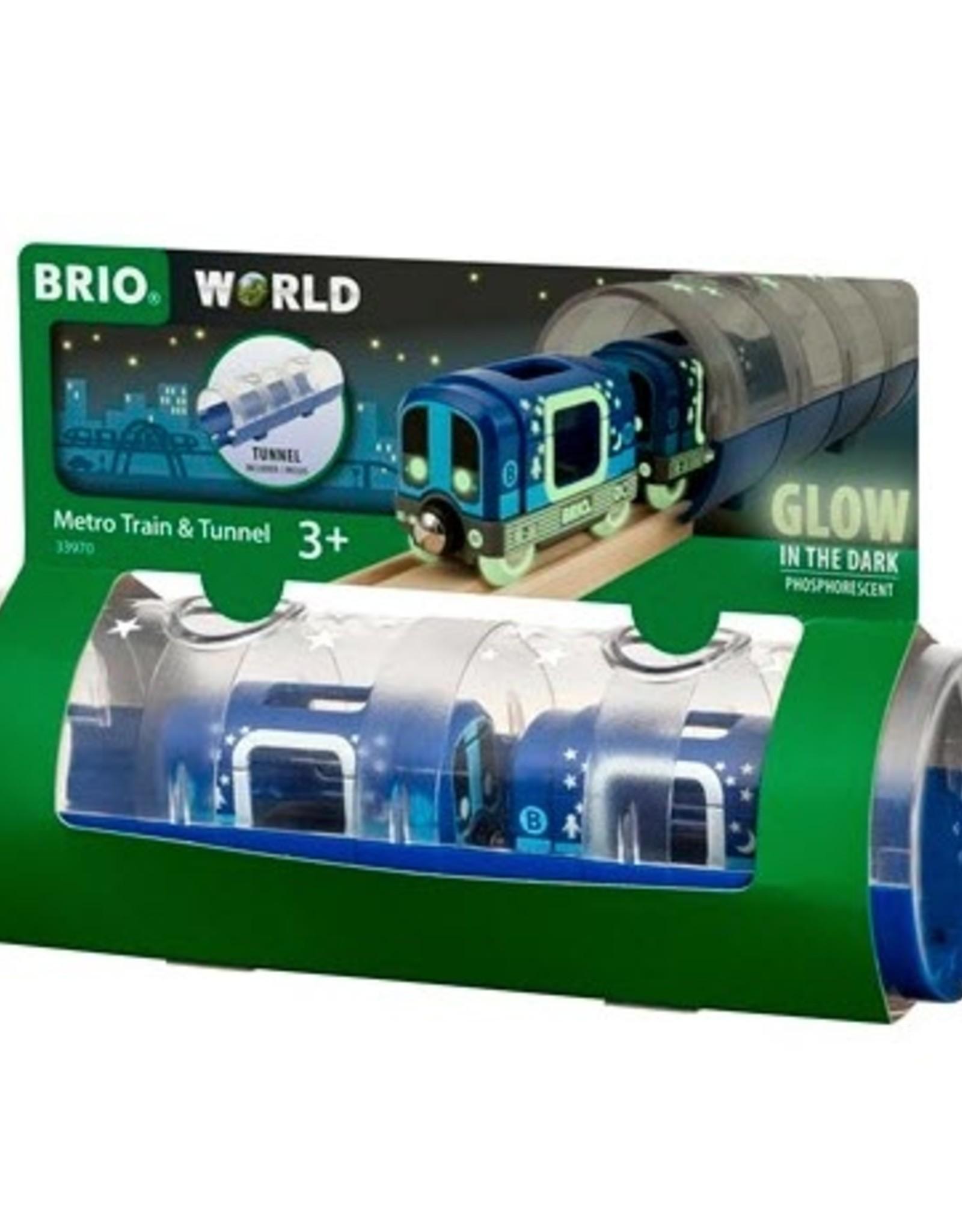 Brio BRIO - Metro Train & Tunnel