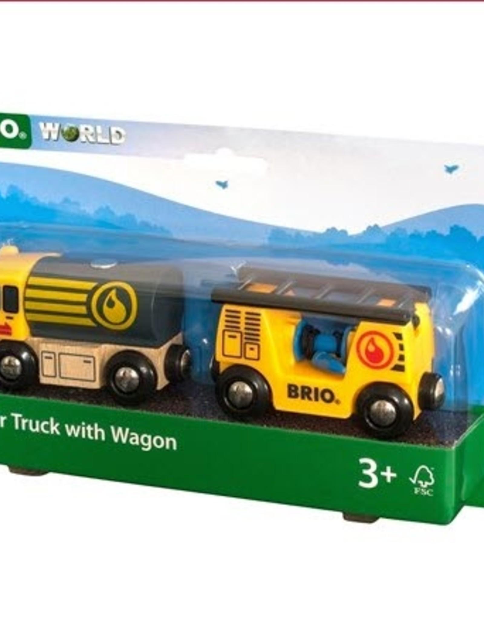 Brio BRIO - Tanker Truck With Wagon