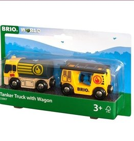 Brio BRIO - Tanker Truck With Wagon