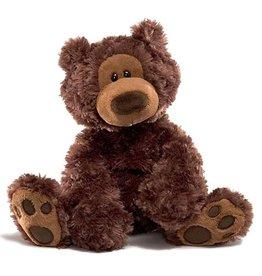 Gund Gund - Philbin Bear 33cm Chocolate