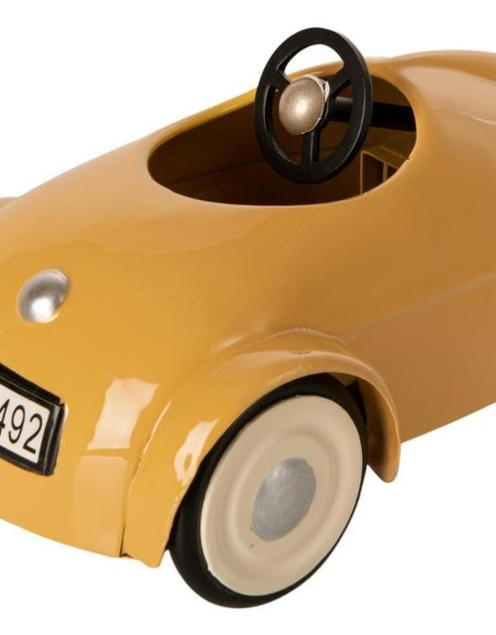 Maileg Maileg - Mouse Car With Garage (Yellow)