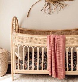 Snuggle Hunny Snuggle Hunny - Rosa Diamond Knit Baby Blanket
