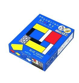 Mondrian Blocks - Blue Edition