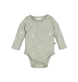 Burrow & Be Burrow & Be - Henly Bodysuit Sprig