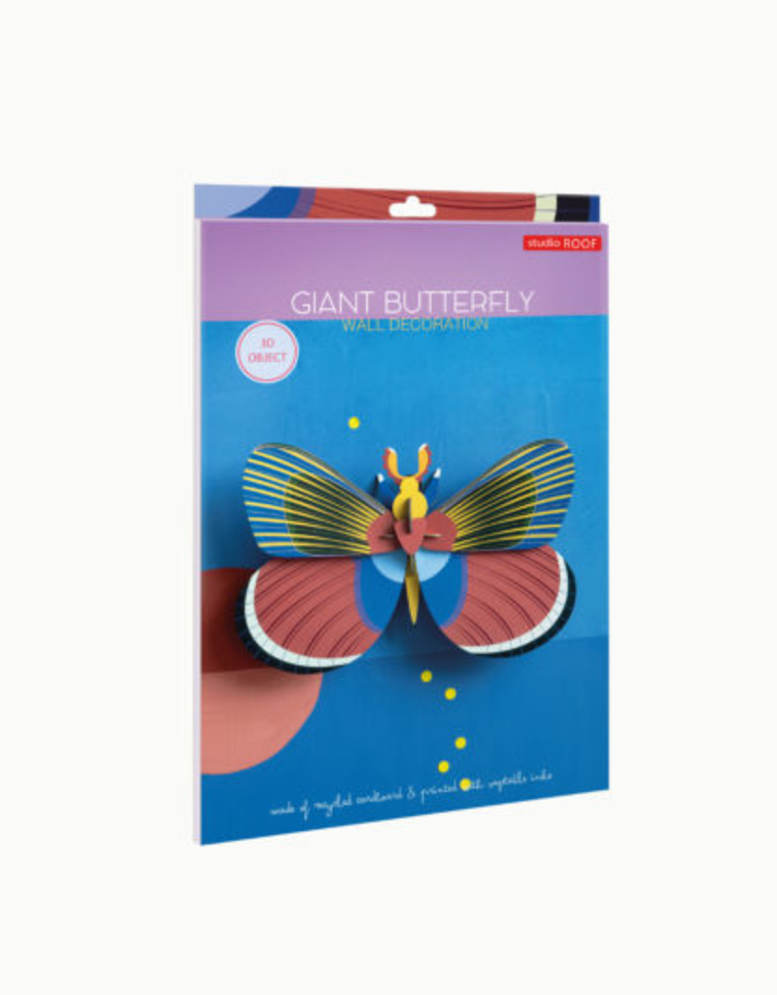 Studio Roof 3D Wall Decor - Giant Butterfly