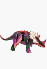 Studio Roof 3D Eco Toy - Triceratops