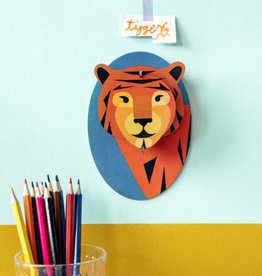 Studio Roof 3D Wall Decororation - Little Tiger