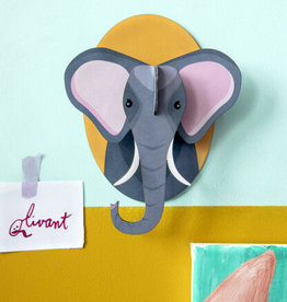 Studio Roof 3D Wall Decoration  - Little Elephant