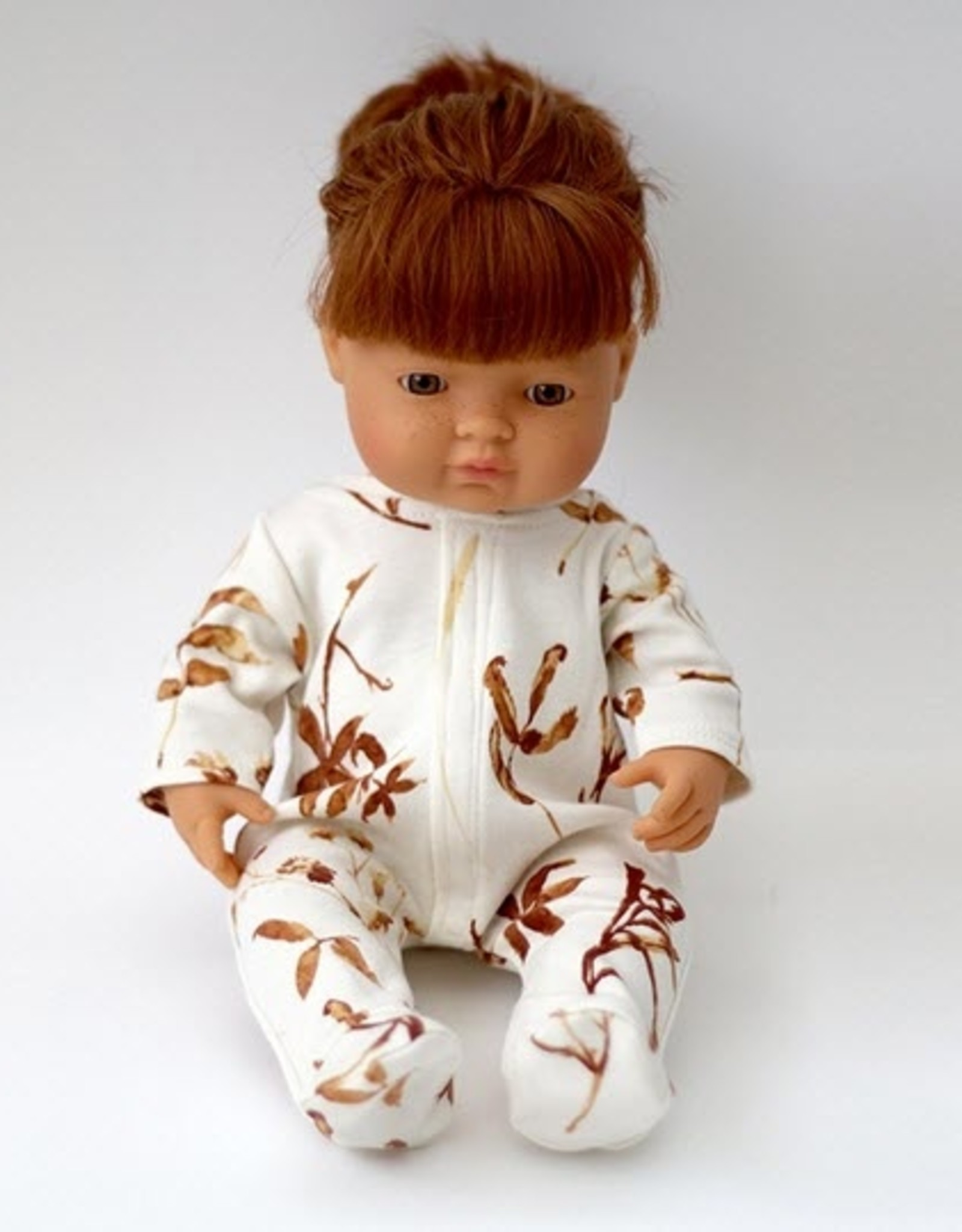 Burrow & Be Burrow & Be - Autumn Leaves Dolls Sleep Suit 38cm