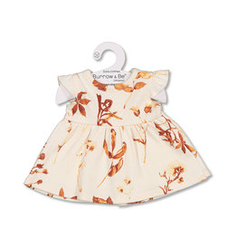 Burrow & Be Burrow & Be - Autumn Leaves Flutter Dolls Dress  38cm