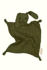 Burrow & Be Burrow & Be - Muslin Bunny Comforter Olive